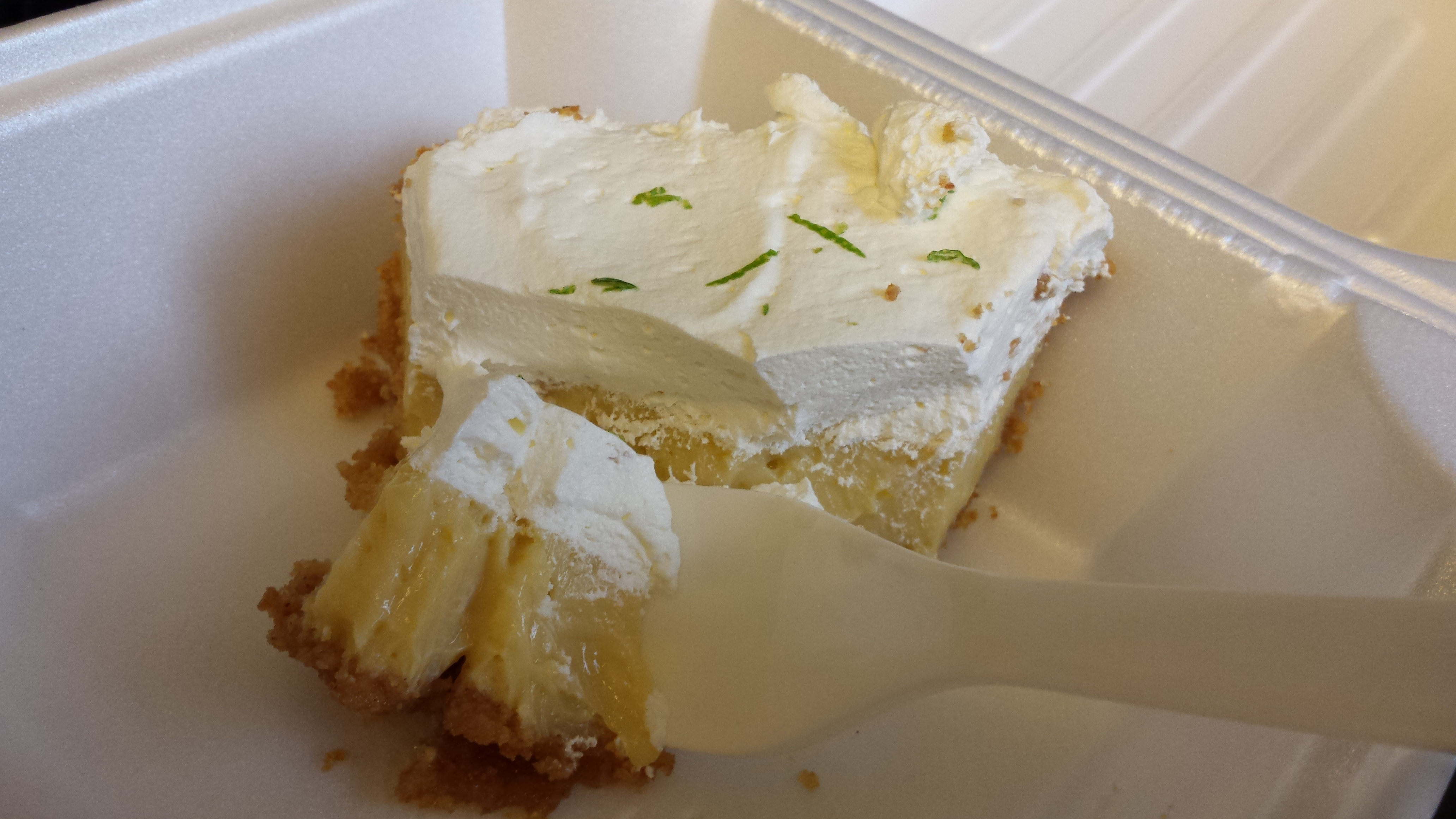 The Joint's Key lime pie
