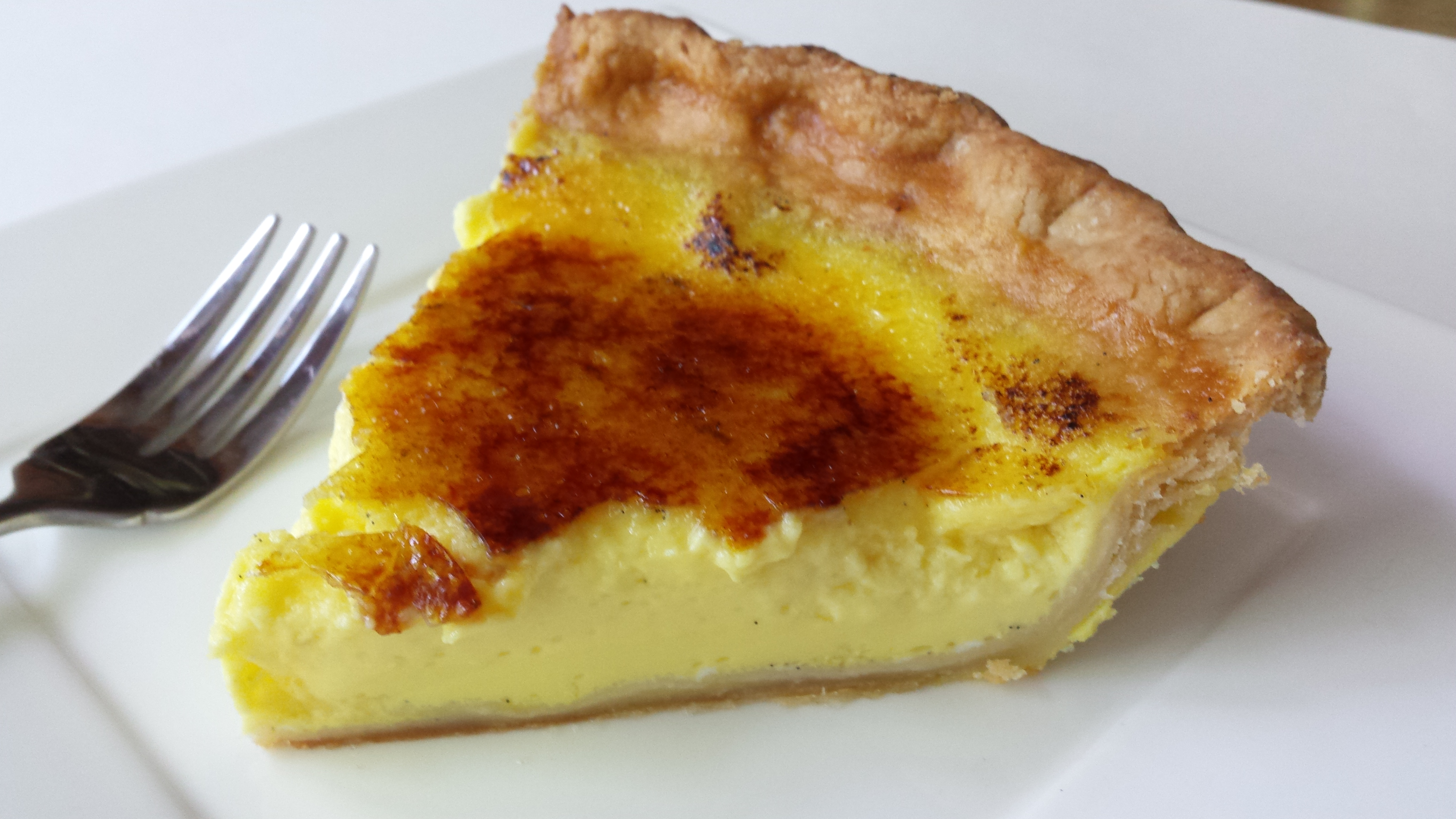 Creme Brulee Pie Recipe — Dishmaps