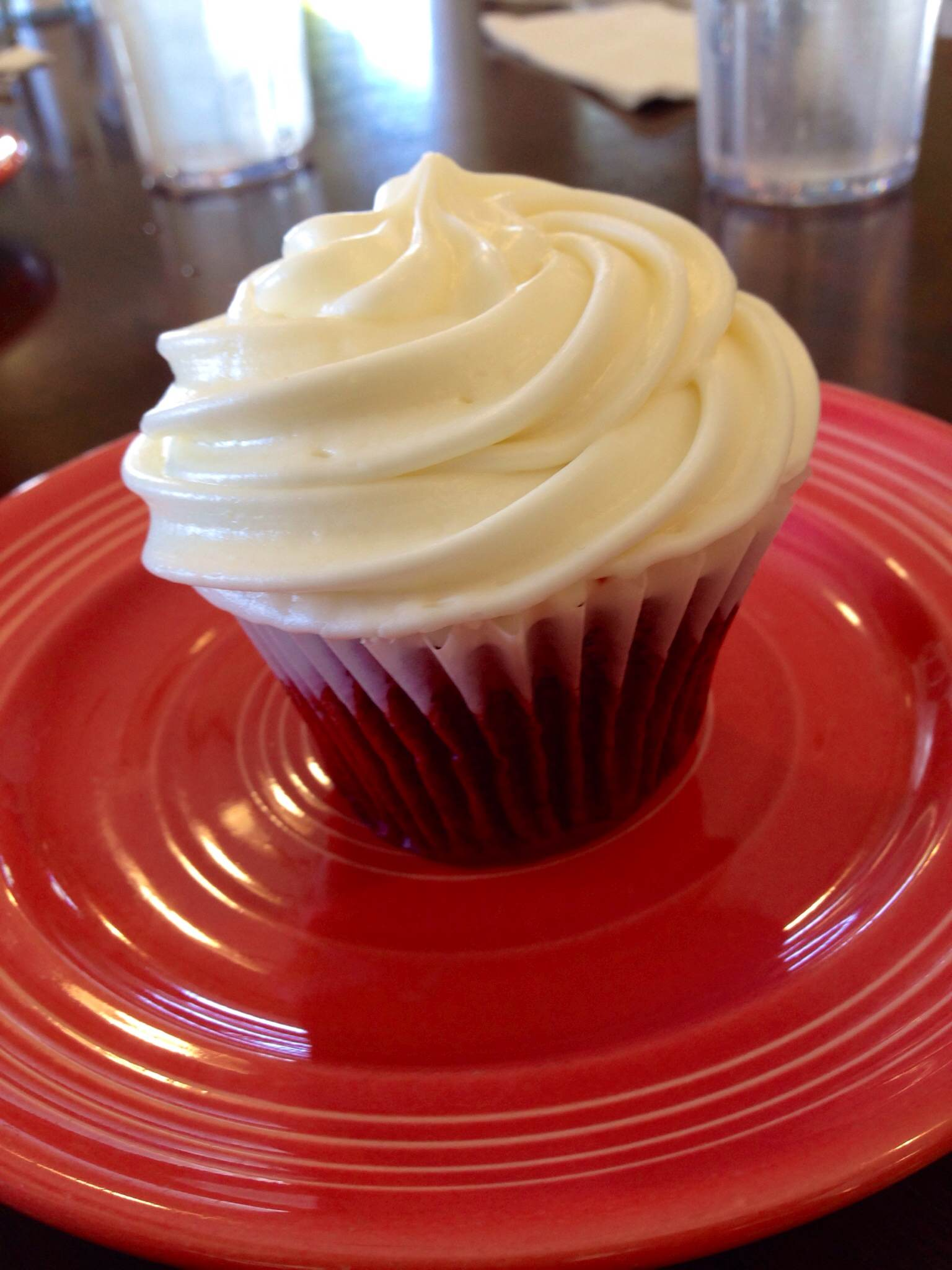Red Velvet cupcake from Jongewaard's. Photo by Jacqueline Macauley